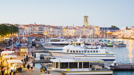 The old harbour at La Rochelle (c) Image Source/Getty Images