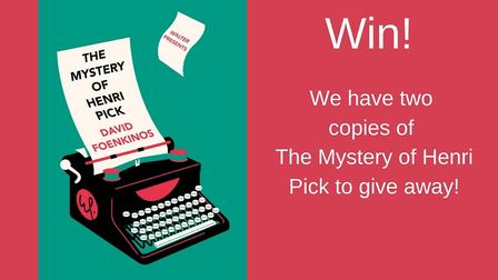 Win a copy of The Mystery of Henri Pick