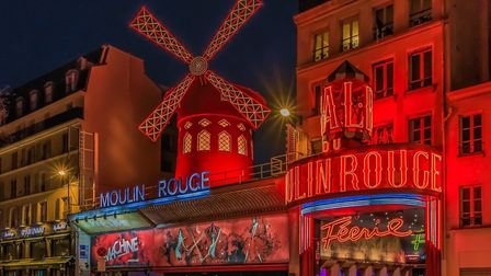 The world-famous Moulin Rouge in Montmartre. Pic: SvetlanaSF/Getty