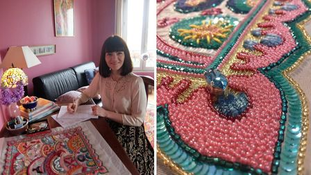Rebecca left Ireland to study embroidery at Ecole Lesage in Paris