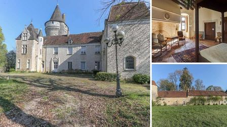 This 18-bedroom chateau in Indre has been reduced to 750,000 euros francepropertyshop.com ID 528531