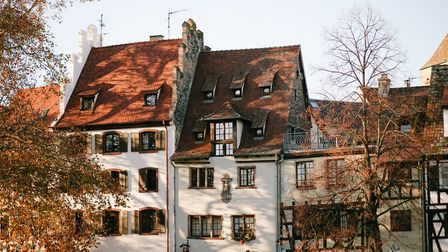 Timbered houses in Strasbourg's Petite France (c) Helena Woods Photography
