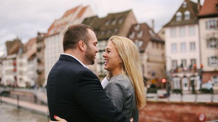 An engagement photo shoot in Strasbourg (c) Helena Woods Photography