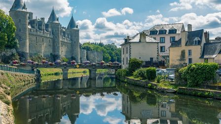 Josselin is one of the lovely alternatives to a motorway service station in France. Pic: Benoit Bruc