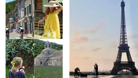 Photos from Provence and romance in Paris (c) Lisa Baker Morgan
