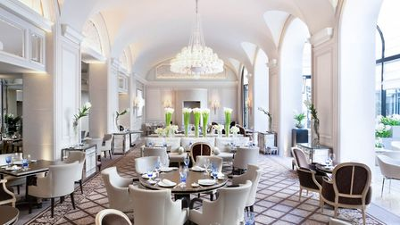 Michelin-starred restaurant Le George at the Four Seasons Hotel George V