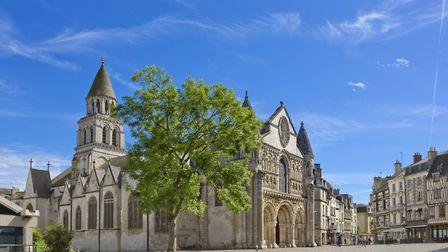 The medieval church of Notre Dame la Grande in Poitiers ©walencienne Getty Images