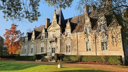 This nine-bedroom chateau in Angers is on the market for ¬850,000 francepropertyshop.com ID 561625