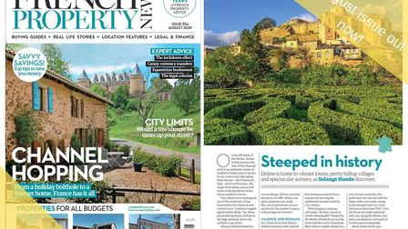 The August issue of French Property News is out now!