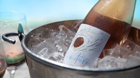 Le Meteore organic rose is produced at the Domaine du Meteore vineyard in Languedoc