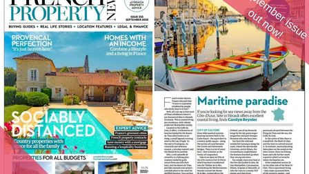 The September issue of French Property News is out now!