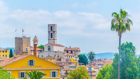 The hillside town of Grasse is home to some of the biggest names in the perfume industry © trabantos