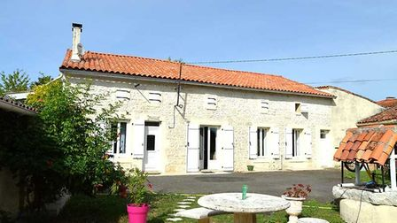 Village house with gite for sale in Charente with CIC Ruffec