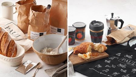 The new PAUL Bake at Home online range includes bread-making kits and product sets