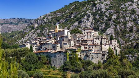 The perched village of Peillon. Pic: RolfSt/Getty