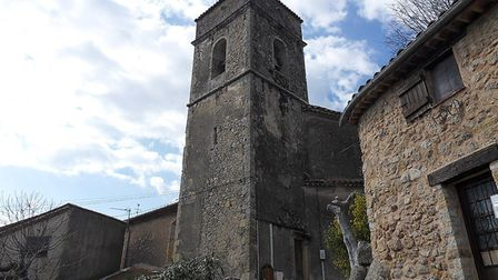 The church tower at Montauroux. Pic: G CHP/Wikimedia