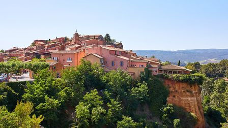 Roussillon and its ochre cliffs. Pic: LR Photographies/Getty