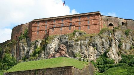 Belfort's Citadelle and Lion. Pic: Pixel-68/Getty