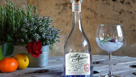 Anne and Jean-Louis named their gin after their hamlet in Tarn-et-Garonne