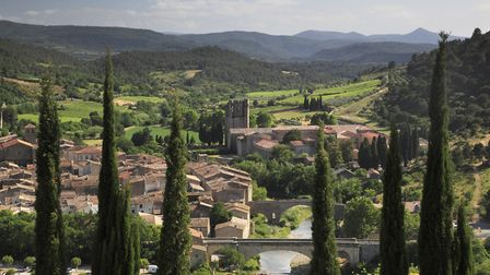 The town of Lagrasse