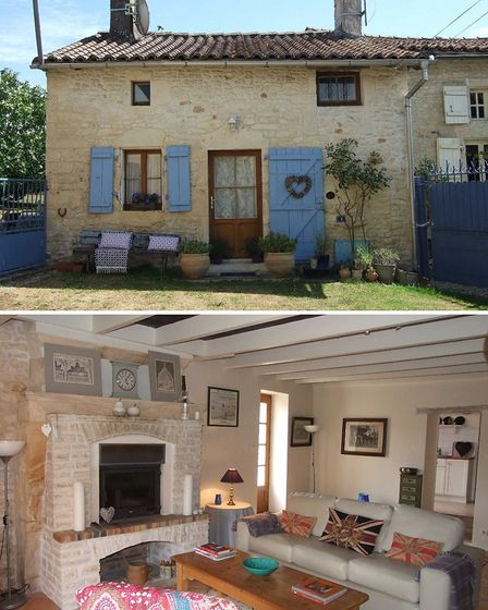 99k cottage for sale in Charente with Beaux Villages