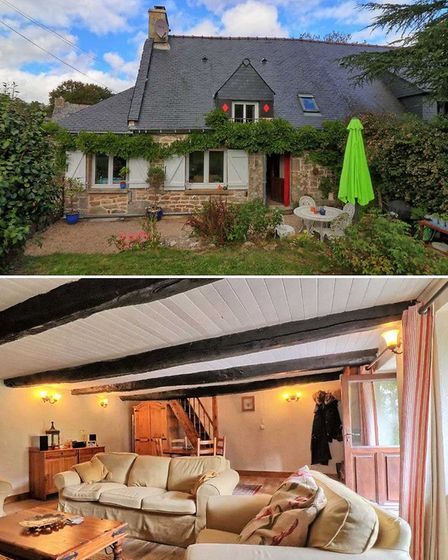 79k Breton cottage for sale with Agence Newton