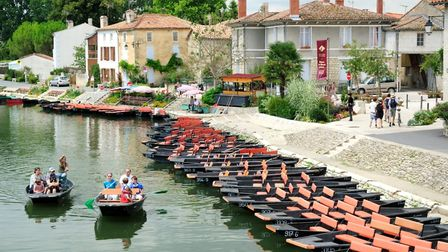 Coulon is a lovely stopping point on the Marais-Poitevin waterways (c) Petegar / Getty Images