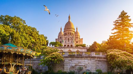 Sacre-Coeur in Montmartre is one of the city's many noteworthy buildings ©DaLiu Getty Images