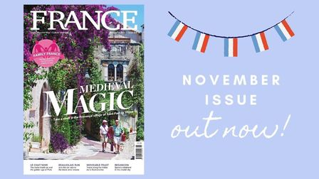 Get your copy of FRANCE Magazine's November issue now