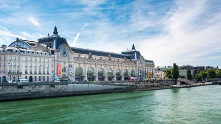 Musée d'Orsay in Paris, seen from the right bank of the Seine river (c) Michael Mulkens/Getty Images