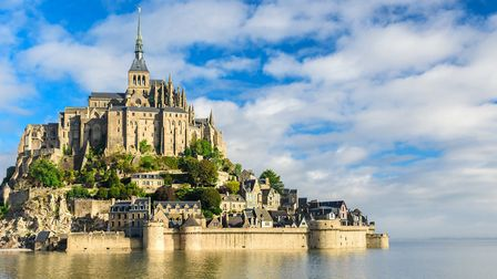 Mont Saint-Michel Abbey on an island in Normandy (c) samael334/Getty Images