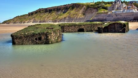The Gold beach at Arromanches, site of Allied landing in World War II (c) Olivier Rault/Getty Images