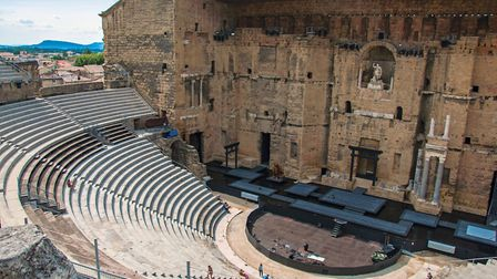 View of the Roman theatre of Orange (c) Celli07/Getty Images
