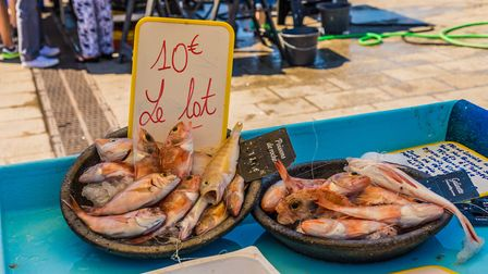 Fresh seafood is in plentiful supply in Marseille ©Getty Images