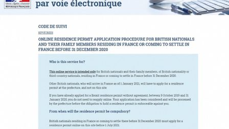 Brits can now apply for their post-Brexit residency cards online