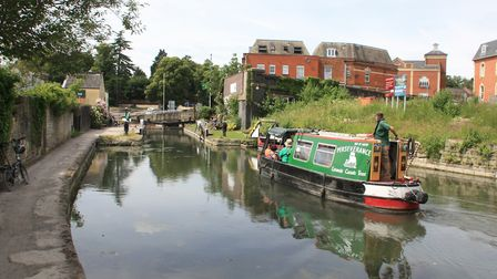 Boats from the waterways network will return to Stroud for the first time in over 70 years