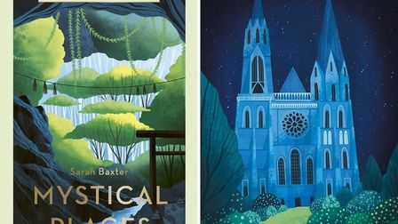 Mystical Places by Sarah Baxter, White Lion Publishing, £14.99. Accompanying illustrations © Amy Gri