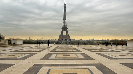 The Trocadero during the first national coronavirus lockdown in France. Pic: jacus/Getty