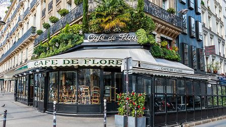 Cafe de Flore in Paris closed due to the coronavirus epidemic in France. Pic: UlyssePixel/Getty