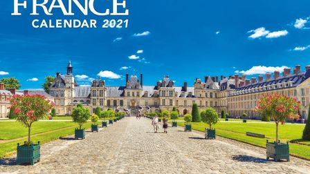 This year's FRANCE Calendar cover star is beautiful Fontainebleau