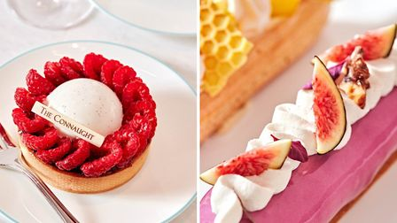 Tarts and eclairs are on the menu at The Connaught Patisserie