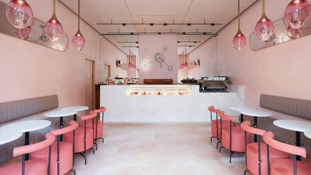 The new patisserie was designed by Ab Rogers Design