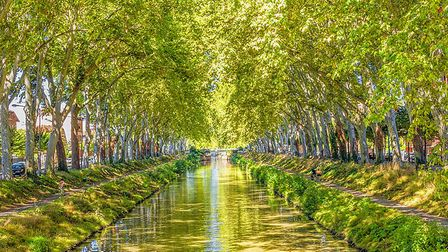 The beautiful colours of the Canal du Midi. Pic: Gianliguori/Getty