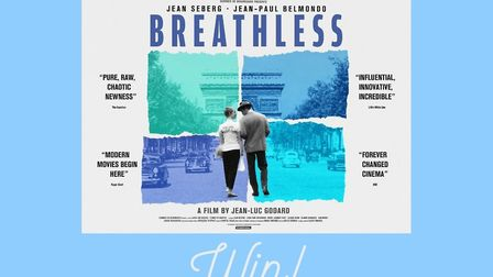 Win a copy of Breathless on Blu-ray or DVD