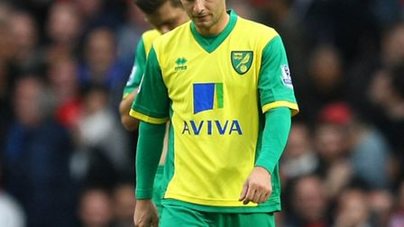 Norwich City midfielder Wes Hoolahan has to get his mind back on the job. Picture by Paul Chesterton