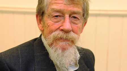 Chancellor, John Hurt, at the 170th anniversary celebrations of the Norwich University of the Arts.