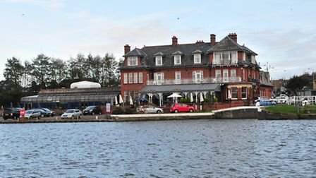 The Wherry Hotel, Oulton Broad is the location for this Weekend's Anglia Afloat Show. Pic Duncan Abe
