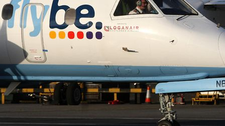 Picture: Flybe plane. Andrew Milligan/PA Wire