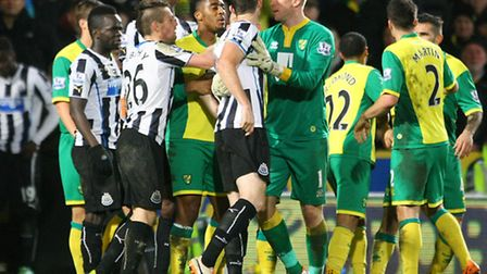 Norwich City and Newcastle have both been charged by the FA for failing to control their players in