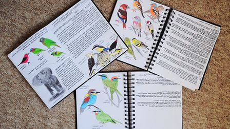 Sean Locke, who is is on the autistic spectrum, has written and illustrated books about wildlife and
